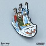 Rick And Morty Whirly Dirly Pin