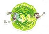 Rick and Morty Portal Swirl Sticker