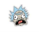 Rick and Morty Bushland Rick Head Sticker