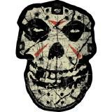 Misfits Crystal Lake Skull Sticker