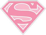 DC Supergirl Logo Sticker