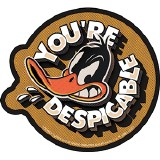 Looney Tunes Daffy Duck You're Despicable Sticker