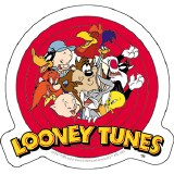 Looney Tunes Logo Sticker