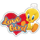 Looney Tunes Tweety Bird Love Bird Sticker