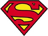 DC Superman Logo Sticker
