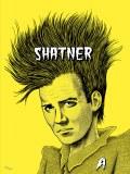 Shatner Screen Printed Poster