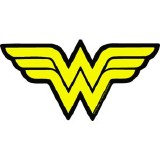 DC Wonder Woman Symbol Sticker