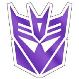 Transformers Decepticon Logo Stickers