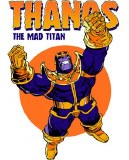Thanos Mad Titan T-Shirt