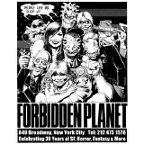 Forbidden Planet Brian Bolland Anniversary T-shirt Medium