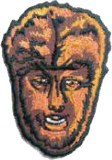 Wolfman Face Patch