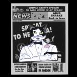 Weekly World News Spy Cat Enamel Pin