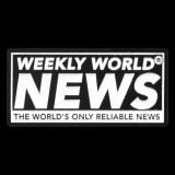 Weekly World News Logo Enamel Pin