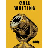 Batman Call Waiting Sticker