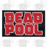 Deadpool Text Logo Patch