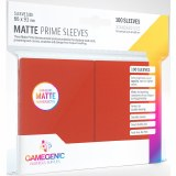 Matte Prime Card Sleeves: Red 100ct