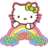 Hello Kitty Dream Rainbow Sticker