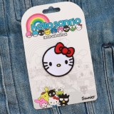 Hello Kitty Hello Sanrio Circle Head Patch