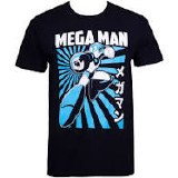 Mega Man Kanji T-Shirt
