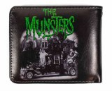 The Munsters Green Lettering Bifold Wallet