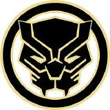 Black Panther lIcon Logo Sticker