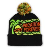 Night Watch Vacation Forever Knit Beanie