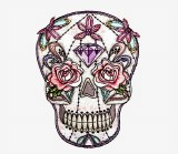 DSX Pastel Skull Patch