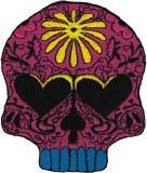 Flower Power Candy Skull