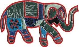Elephant With Pattern Patch