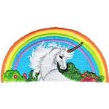 Unicorn Rainbow Patch