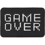 Video Game Game Over Text Patch