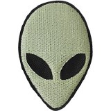 Alien Glow in the Dark Patch