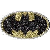 Batman Glitter Patch 2