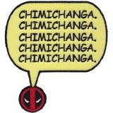 Deadpool Chimichanga Patch