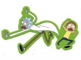 Rick And Morty Running Sticker