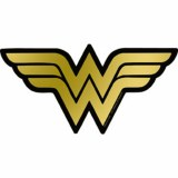 WW Metallic Sticker