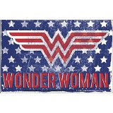 Wonder Woman Stars and Stripes Sticker