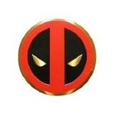 Deadpool Metal Sticker Medium
