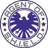 Agent of SHIELD Logo Sticker