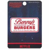 Stranger Things Bennys Burgers Patch