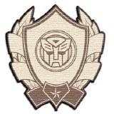 Transformers Badge Logo Patch