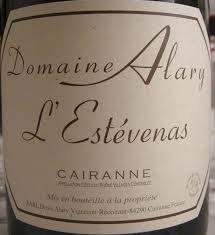 Domaine Alary Cairanne L'Estevenas 2017
