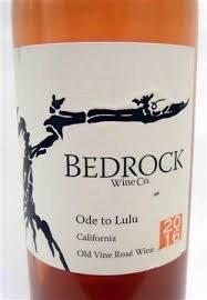 Bedrock Ode to Lulu Old Vine Rosé 2019