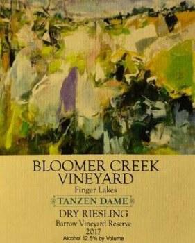 Bloomer Creek Dry Riesling Barrow Vineyard Reserve 2017