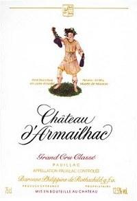 Chateau d'Armailhac Pauillac 2014