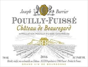 Chateau de Beauregard Pouilly-Fuissé 2016