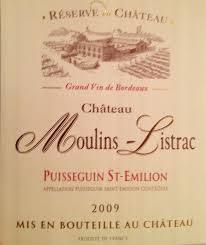 Chateau Moulins-Listrac Puisseguin St-Emilion 2010