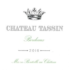 Chateau Tassin Bordeaux Blanc 3L Box 2018