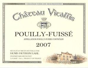 Chateau Vitallis Pouilly-Fuissé