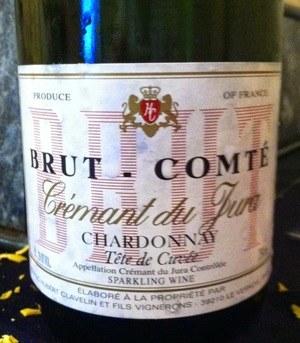 Clavelin Brut-Comte Cremant du Jura NV